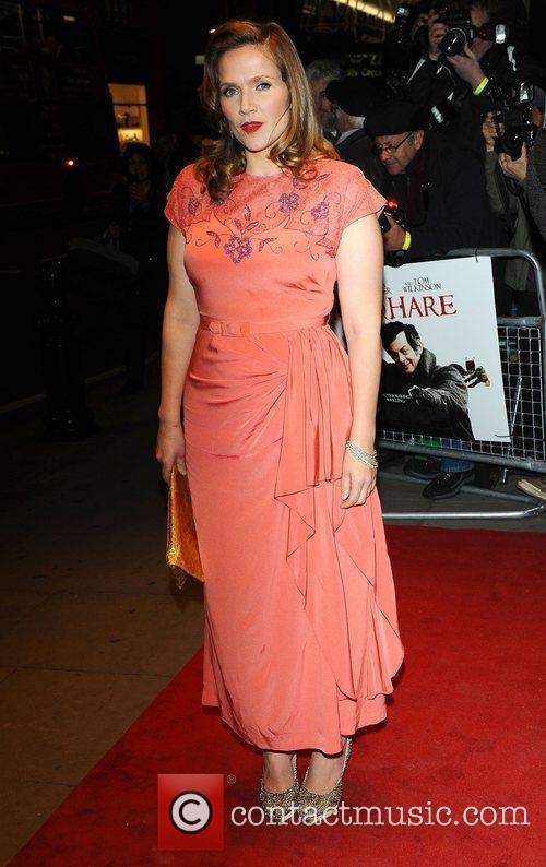Jessica Hynes World premiere of 'Burke and Hare'...