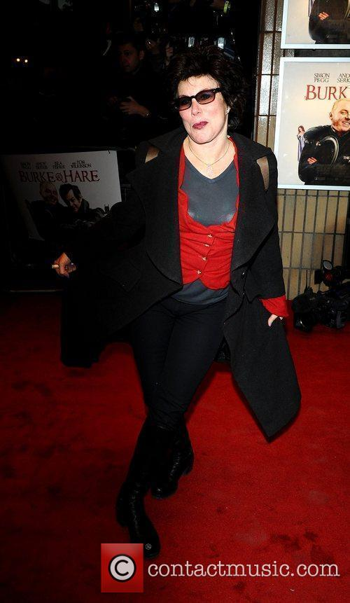 Ruby Wax World premiere of 'Burke and Hare'...