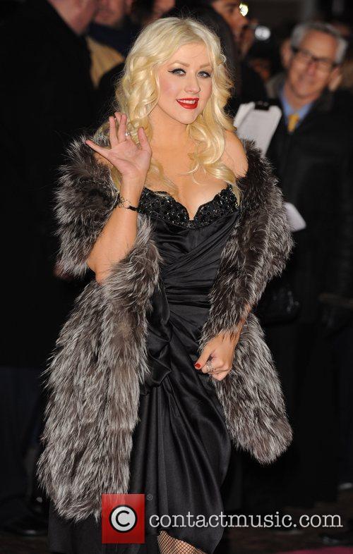 Christina Aguilera Burlesque - UK film premiere held...