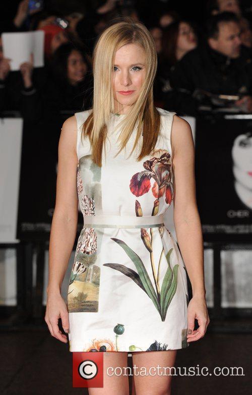 Kristen Bell Burlesque - UK film premiere held...