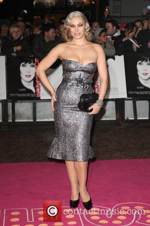 'Burlesque' UK film premiere held at the Empire...