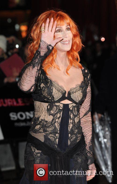 Cher Burlesque - UK film premiere held at...