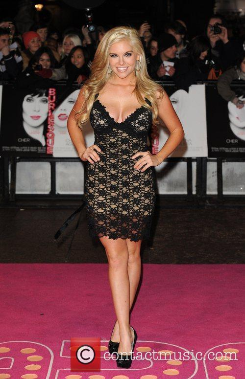 Kayla Collins Burlesque - UK film premiere held...