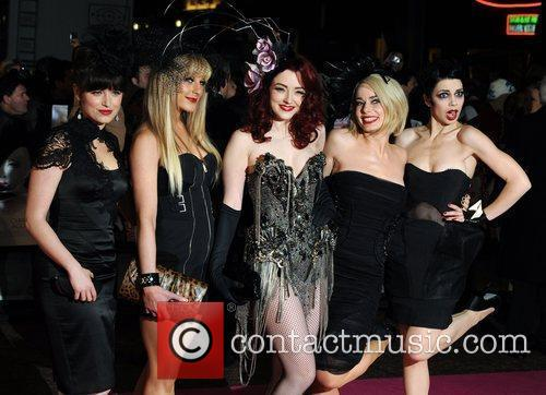 Burlesque - UK film premiere held at the...