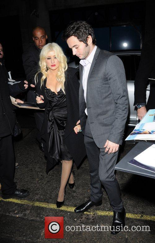 'Burlesque' UK film premiere After Party held at...