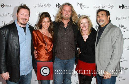 William Shockley, Sheree J. Wilson (C) and Guests...