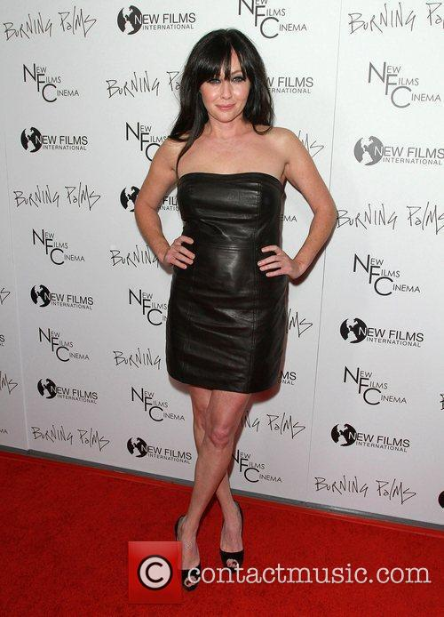 Shannen Doherty the 'Burning Palms' Los Angeles premiere,...