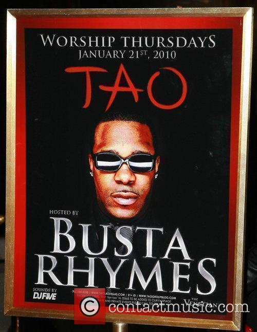 Busta Rhymes hosts TAO Worship Thursday at the...