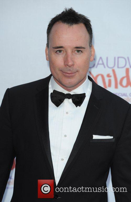 David Furnish The Caudwell Children Butterfly Ball held...
