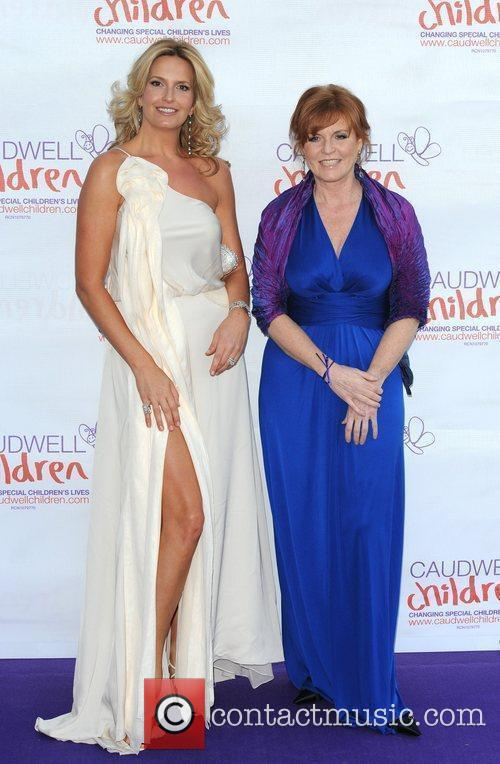 Sarah Ferguson and Penny Lancaster The Caudwell Children...