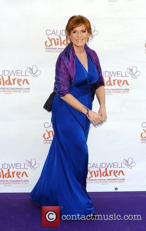 Sarah Ferguson The Caudwell Children Butterfly Ball held...