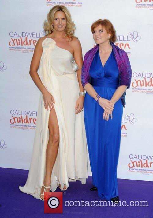 Penny Lancaster and Sarah Ferguson The Caudwell Children...