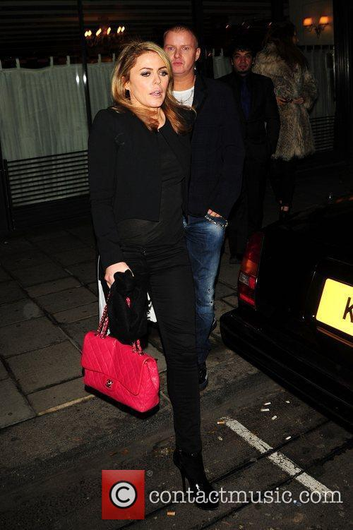 Patsy Kensit at C London restaurant