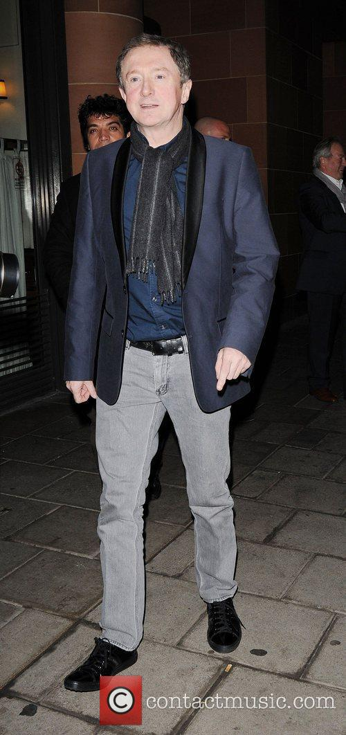 Louis Walsh leaving C London restaurant