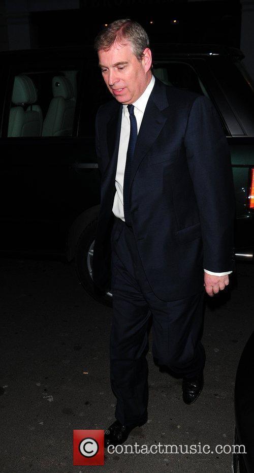 Prince Andrew, Duke of York outside C London...