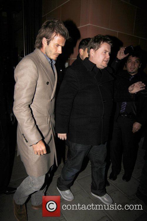 David Beckham and James Corden 5
