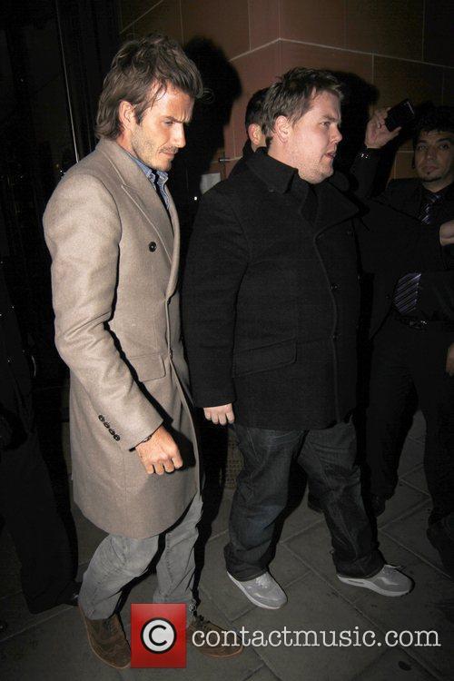 David Beckham and James Corden 8