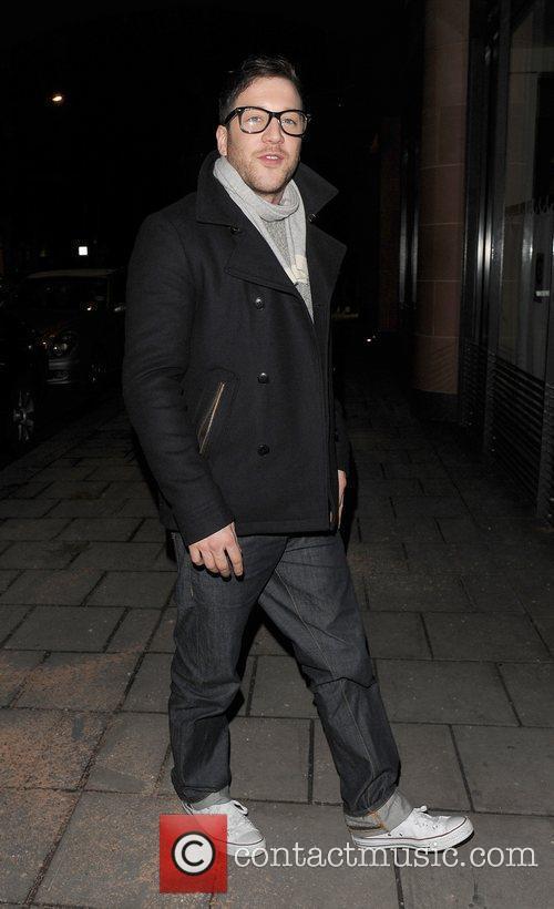 X Factor 2010 winner Matt Cardle arrives at...