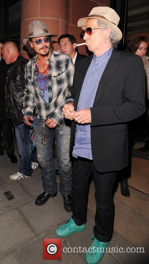 Johnny Depp and Keith Richards 8