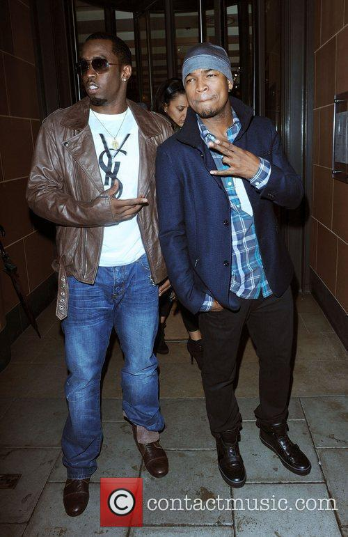 Sean Combs and Ne-yo 5