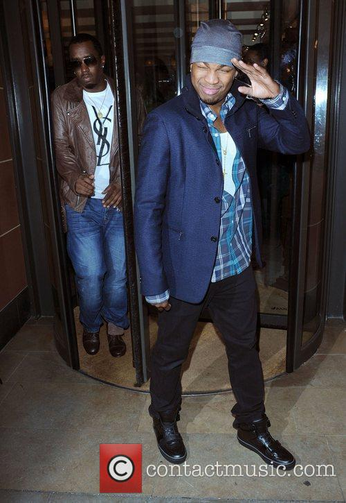 Sean Combs and Ne-yo 2