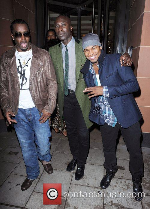 Sean Combs, Ne-yo and Ozwald Boateng 6