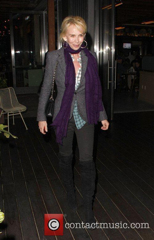 Trudie Styler leaves Cafe Habana in Malibu Los...