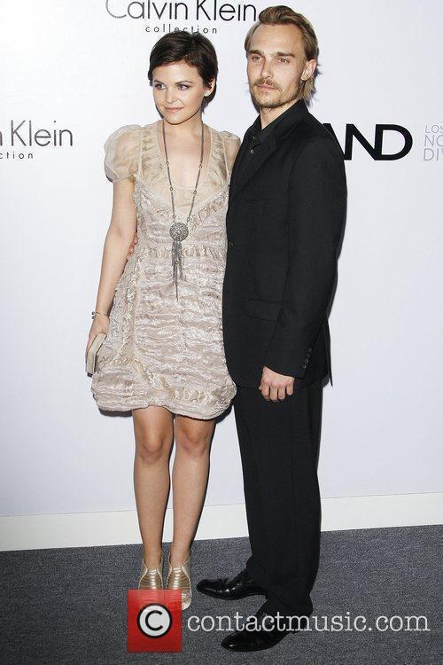 Ginnifer Goodwin and Joey Kern Calvin Klein Collection...