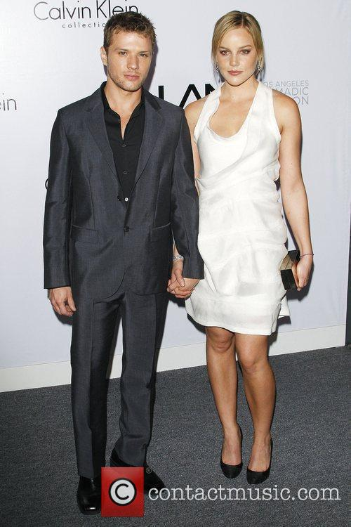 Ryan Phillippe and Abby Cornish Calvin Klein Collection...