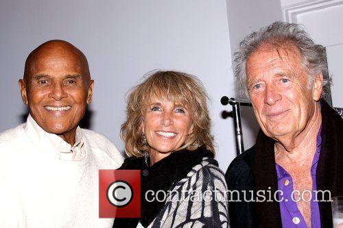 Harry Belafonte, Pamela Belafonte and Chris Blackwell 2