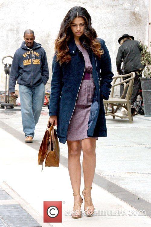 'Shear Genius' host walking in Manhattan wearing a...