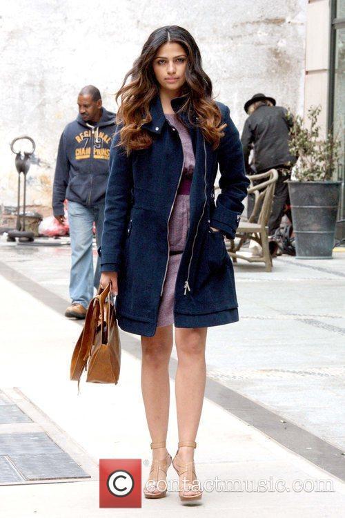 Camila Alves 'Shear Genius' host walking in Manhattan...