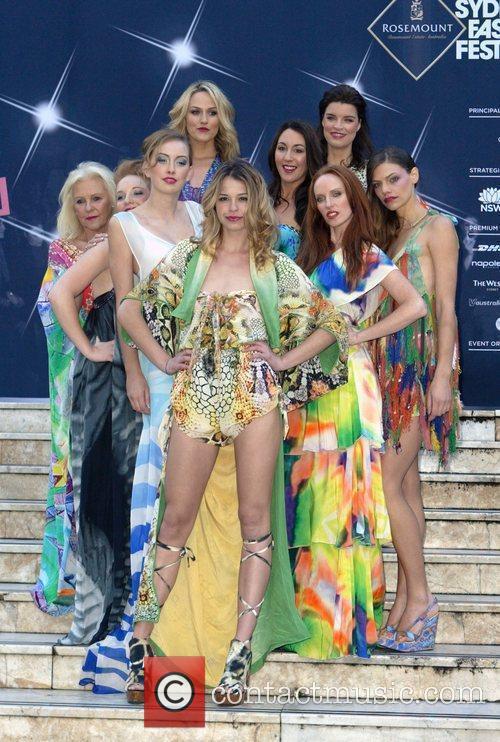 Australian fashion designer Camilla Franks known for her...