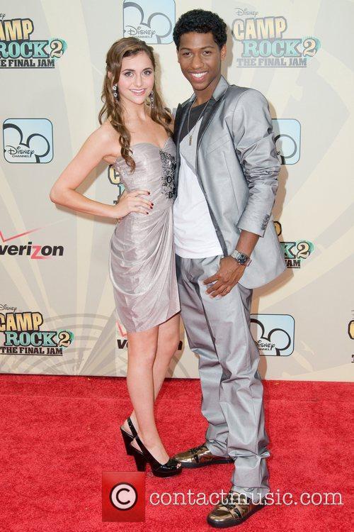 Alyson Stoner and Jordan 2
