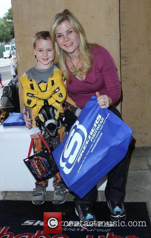Alison Sweeney and her son Ben 18th Annual...