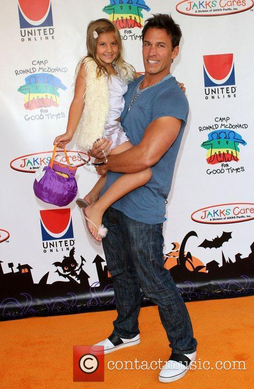 Dan Cortese and daughter India Isabella 18th Annual...
