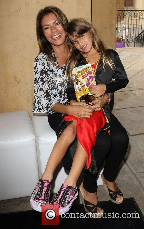 Lisa Vidal and Daughter 18th Annual Camp Ronald...