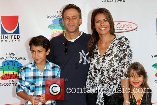 Lisa Vidal, Husband Jay and Children 18th Annual...