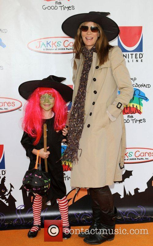 Rachel Griffiths and her daughter Adelaide Rose Taylor...