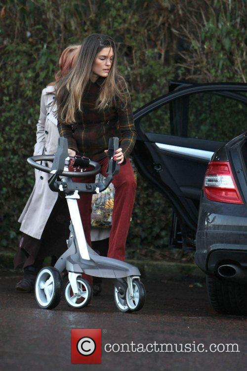 Carly Zucker returns to her car after shopping...