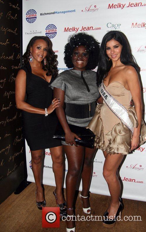 Vivica A. Fox, Melky Jean and Miss USA...