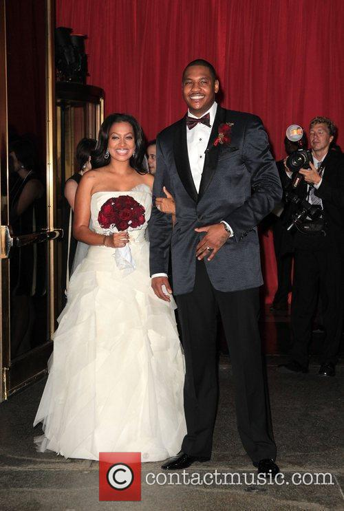 Lala Vasquez and Carmelo Anthony 1