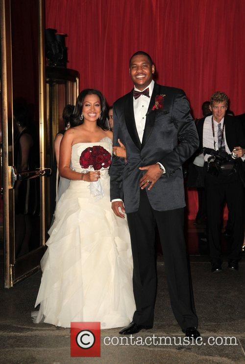 Lala Vasquez and Carmelo Anthony 8