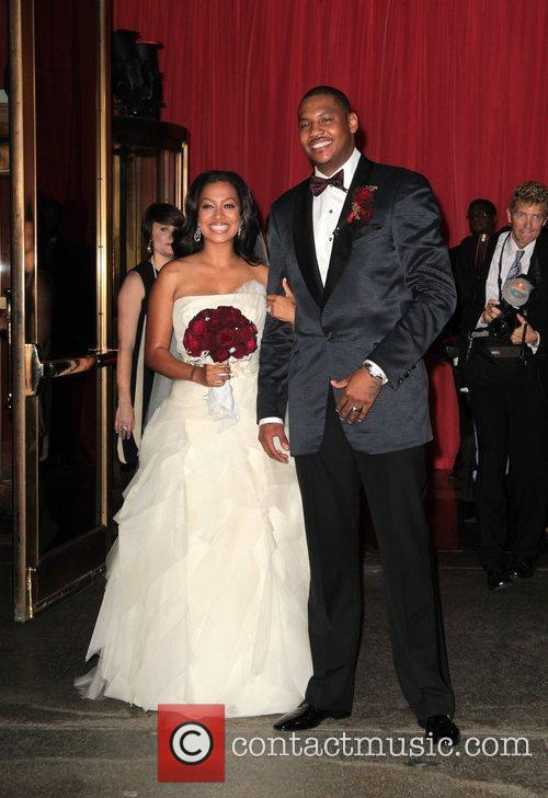 Lala Vasquez and Carmelo Anthony 2