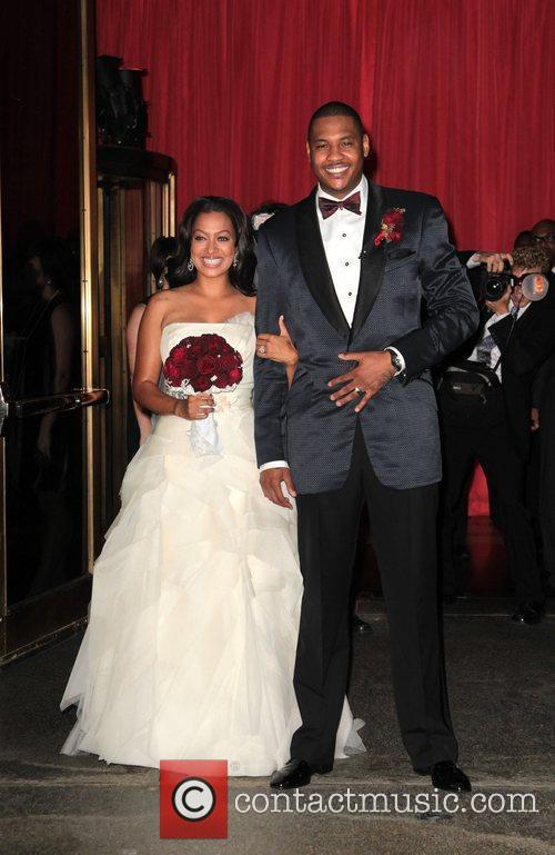 Lala Vasquez and Carmelo Anthony 5