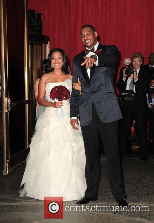 Lala Vasquez and Carmelo Anthony 4
