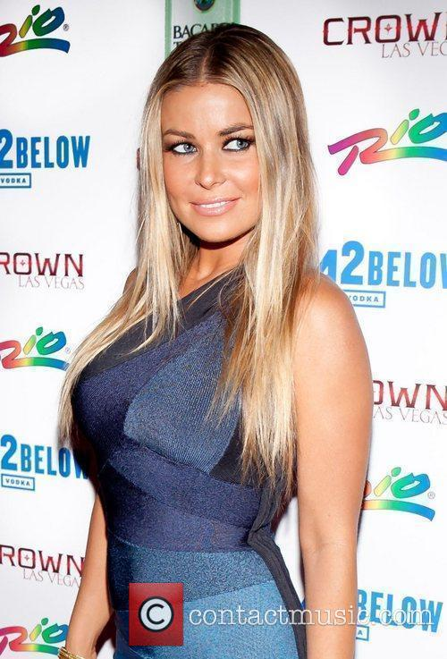 Carmen Electra hosts an event at Crown nightclub...