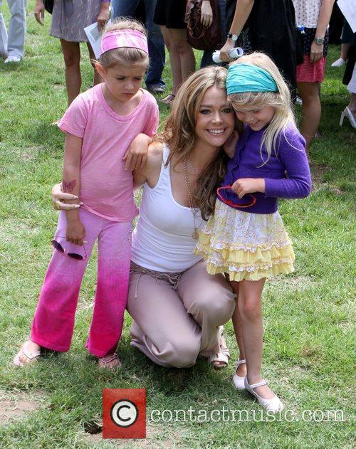 Denise Rishards and her daughters Sam J and...