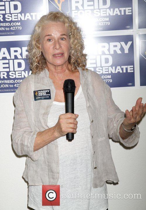 At Senator Harry Reid's campaign headquarters to kick...