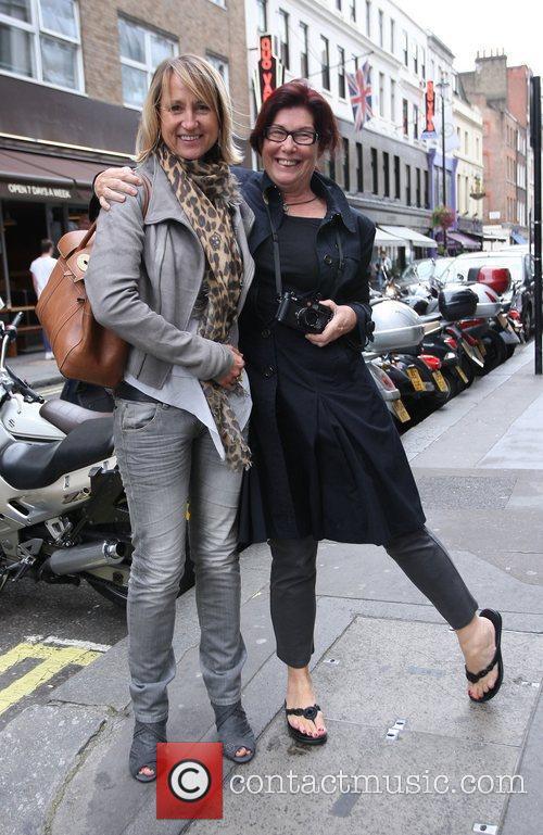 Carol McGiffin The Loose Women presenter sporting an...
